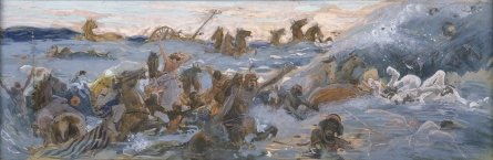 Tissot_The_Egyptians_Are_Destroyed